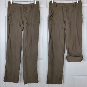 The north face roll up hiking pants stow pockets